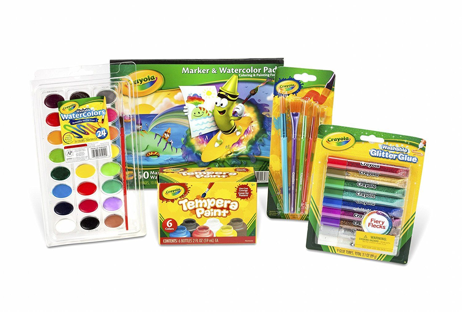 So Much Fun Crayola Kid S Washable Paint And Craft Set That