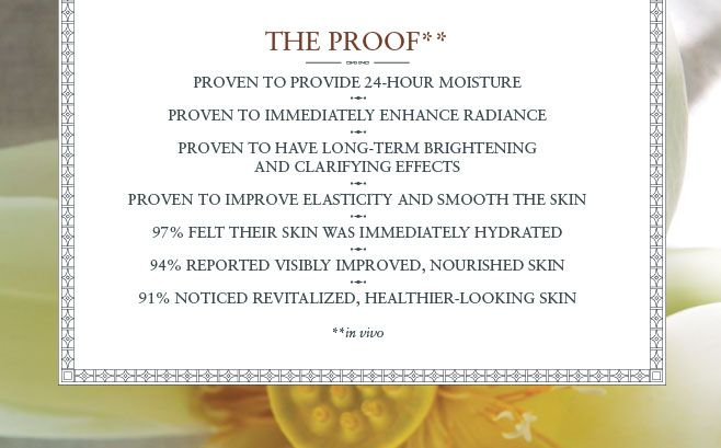THE PROOF about Lotus Face Cream
