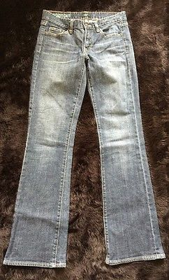 J. Crew Stretch Boot Cut Jeans Women's Sz 27R*