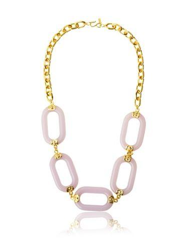 Kenneth Jay Lane Womens Oversized-Oval-Link Necklace yNLHBNRFPf