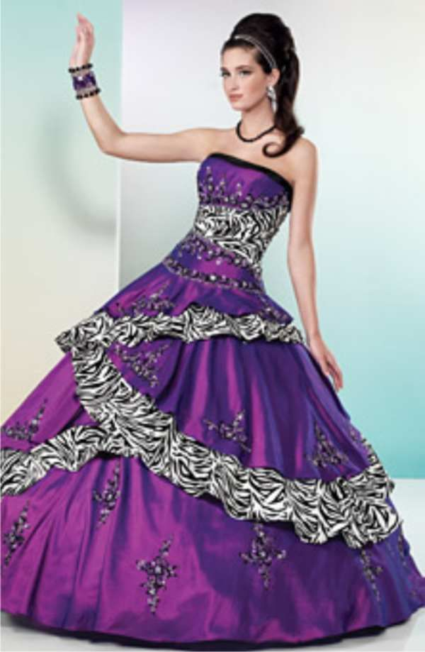 purple dresses for weddings | the purple wedding dress collection ...