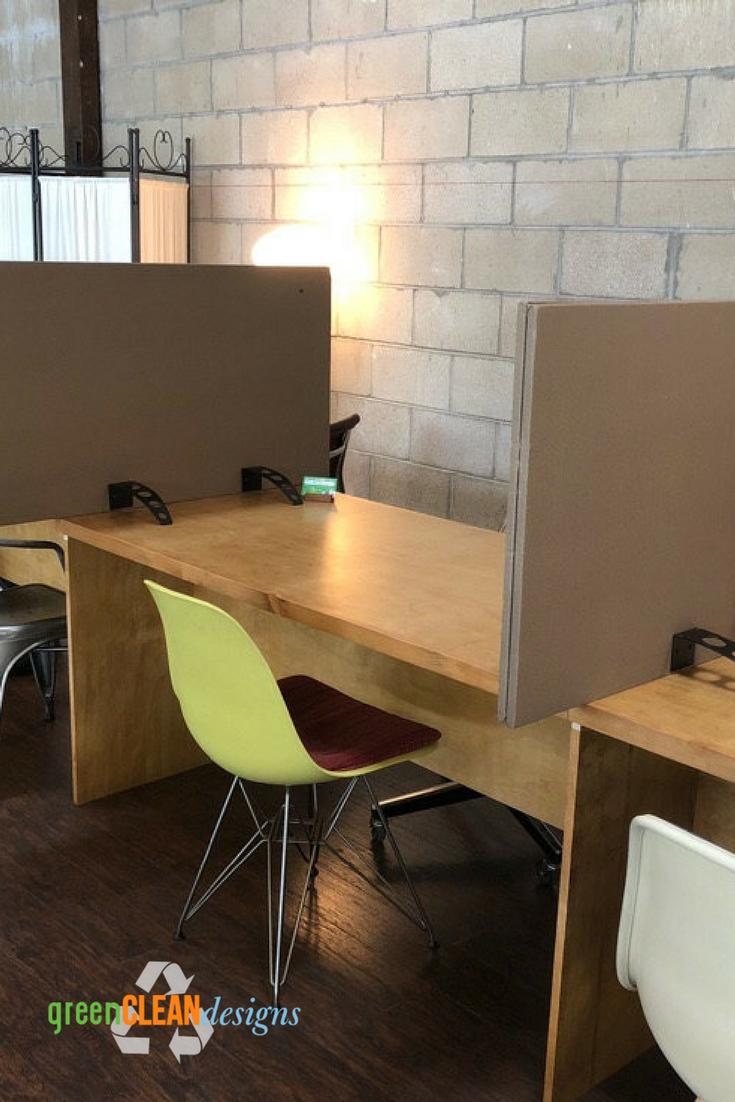 Freestanding Desk Or Conference Table Dividers Green Clean Designs Desk Dividers Diy Room Divider Conference Table