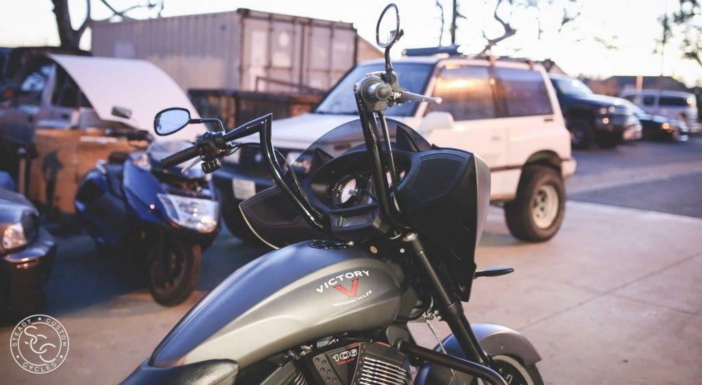 Bull Horn For Victory Motorcycles Custom baggers, Custom