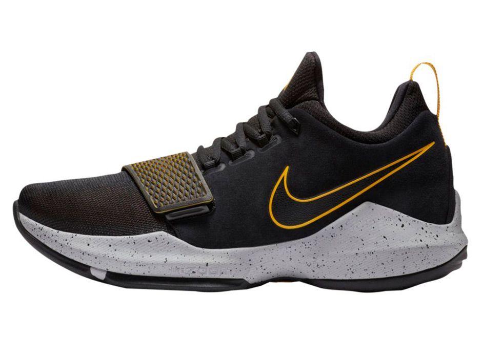 best loved e97ac 513fc Nike PG 1 Black/University Gold Release Info   What's ...