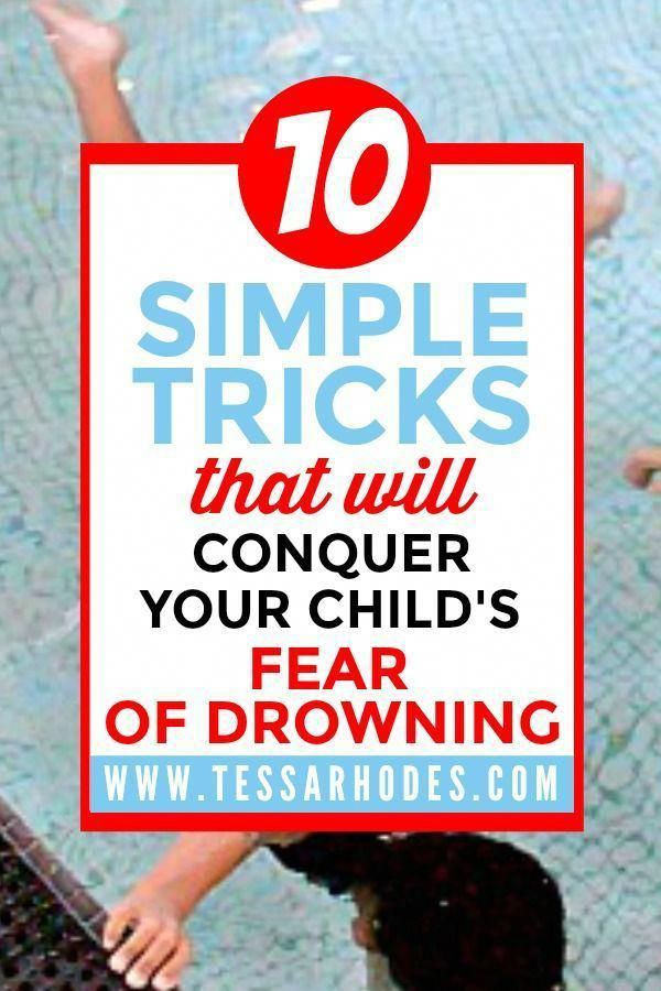 Fear Of Drowning Or Swimming? Help Your Kids Conquer Their