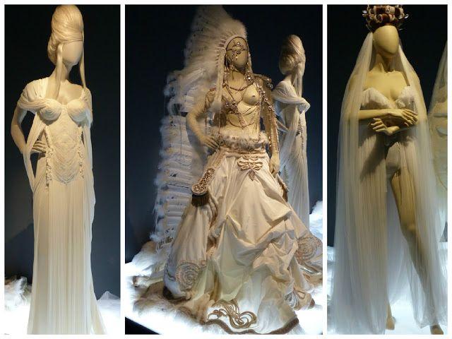 Robes de mariées, Expo Jean Paul Gaultier, Grand Palais