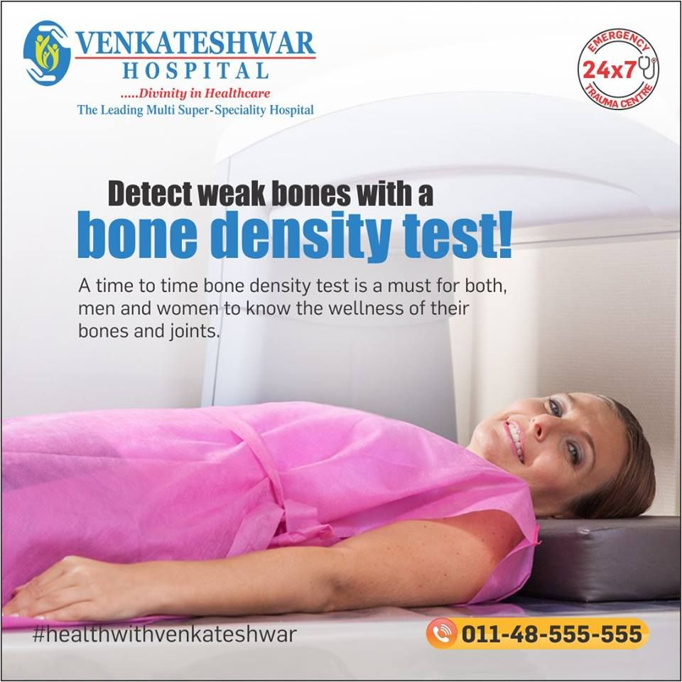 detect weak bones with a bonedensity test a time to time bone