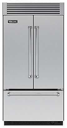 42 Refrigerator French Door Bottom Freezer Professional Quiet Cool Vtb5420 Viking Range Llc Kitchen Appliance Storage Appliances Built In Refrigerators