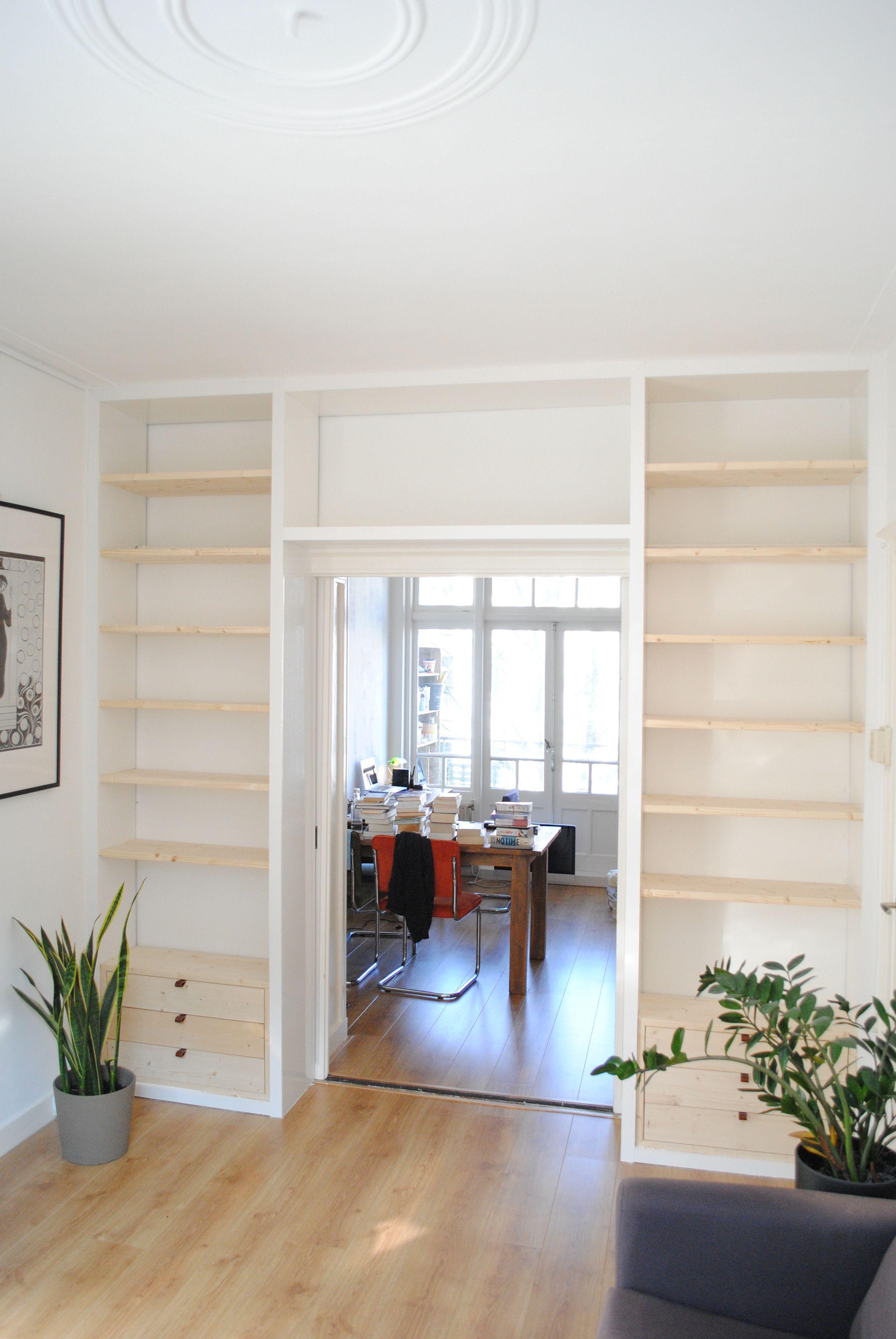 En Suite kast op maat in Amsterdam Oost ontworpen door StudioSVA ...