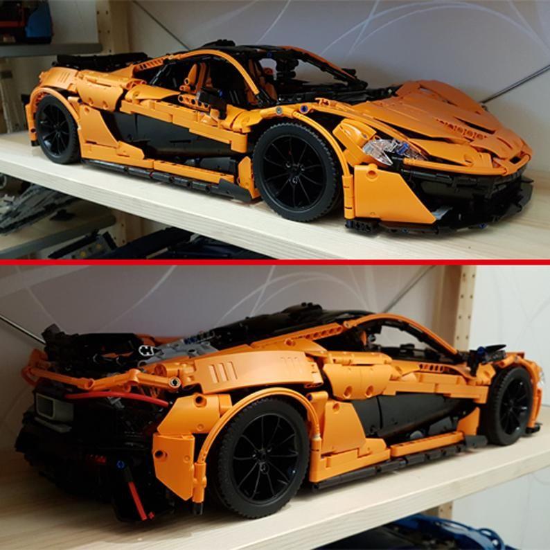 Technic Custom Moc Set 42056 Mclaren P1 42083 42096 42070 Etsy Mclaren P1 Lego Technic Mclaren