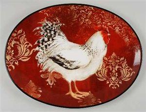 Rooster Platter designed by Susan Winget & Rooster Platter designed by Susan Winget | Roosters! | Pinterest ...