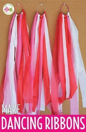 An Easy Craft for Kids: How to Make Dancing Ribbons