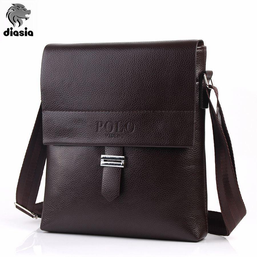 5f805e386c9 Male Famous Brand polo Design pu Leather Men Bag Casual Business Leather  Mens Messenger Bag Vintage Men s Crossbody Bag bolsas