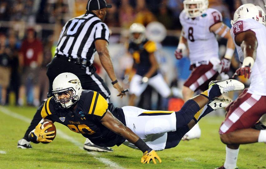 Boca Raton Bowl 2015, Temple vs. Toledo Toledo, Boca