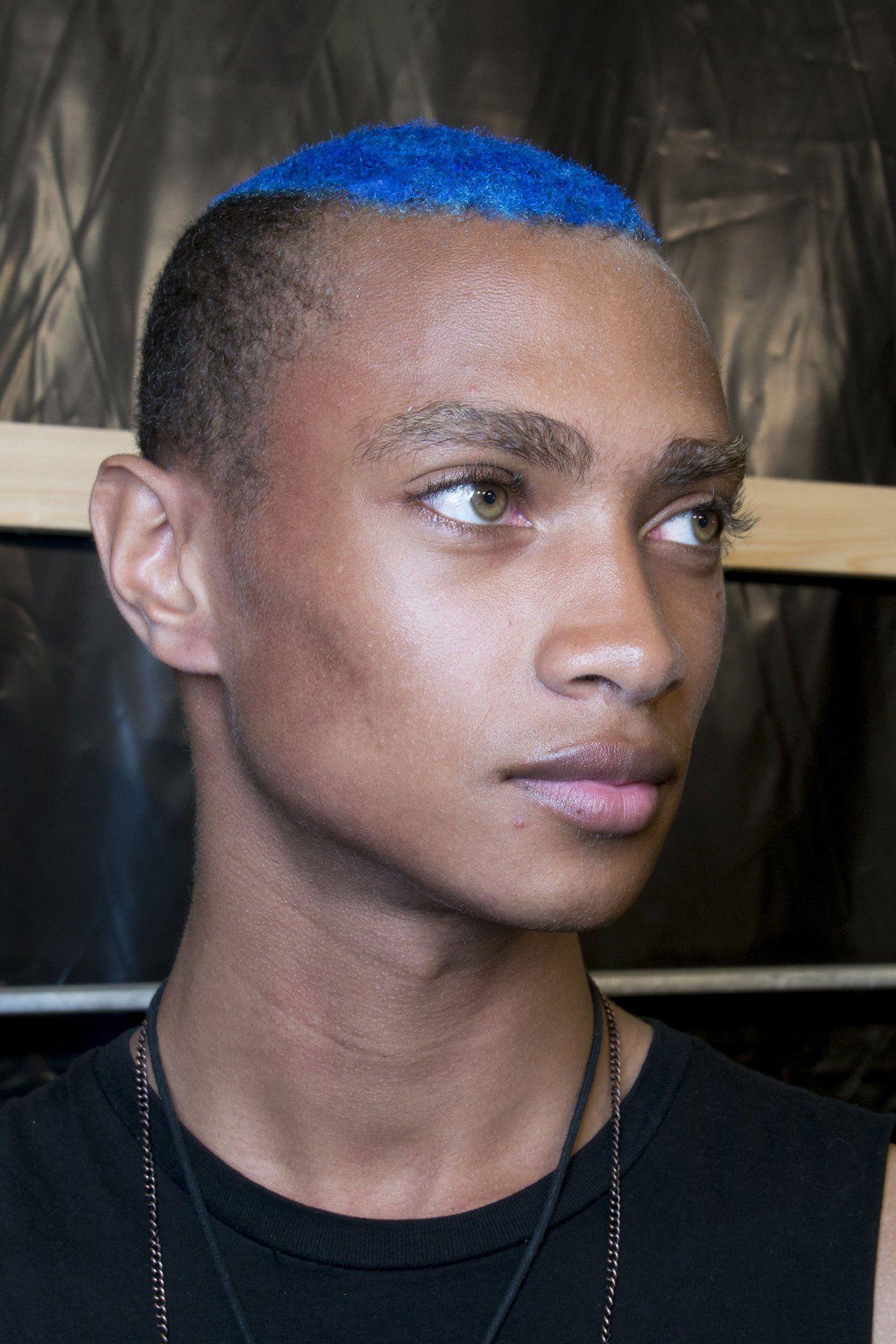 Black Boys Daje Barbour Backstage At Rynshu S S 14 Oc Eyes