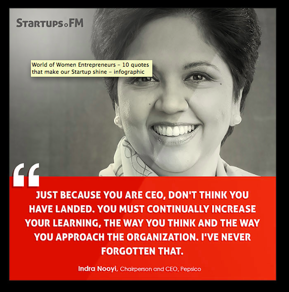 Successful  women Indra Nooyi by Startups.FM  empowerment ... 15e3ccd67