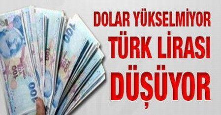 Dolar YÜkselmİyor TÜrk Lİrasi DÜŞÜyor