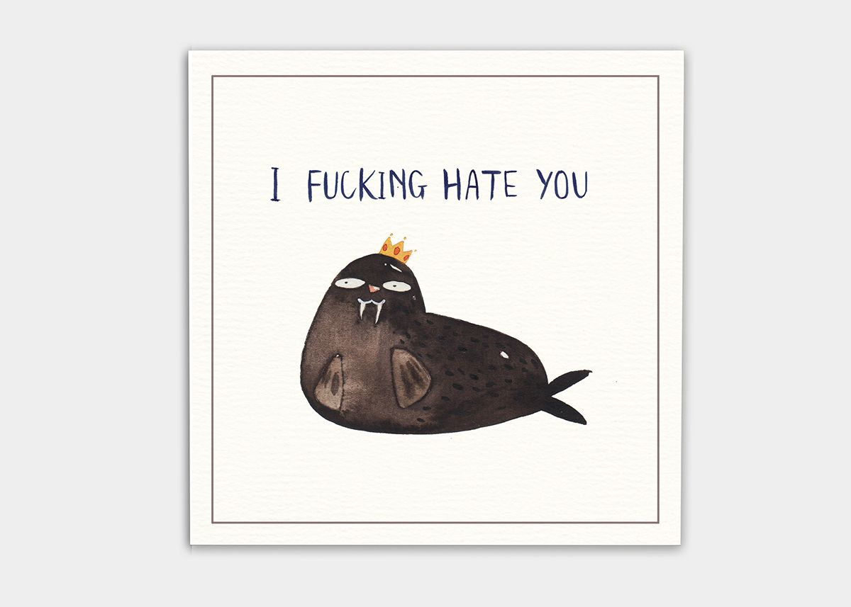 Postcard for your enemies on Behance
