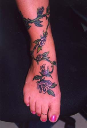 Rose Vine Vine Tattoos Rose Vine Tattoos Wrap Around Tattoo