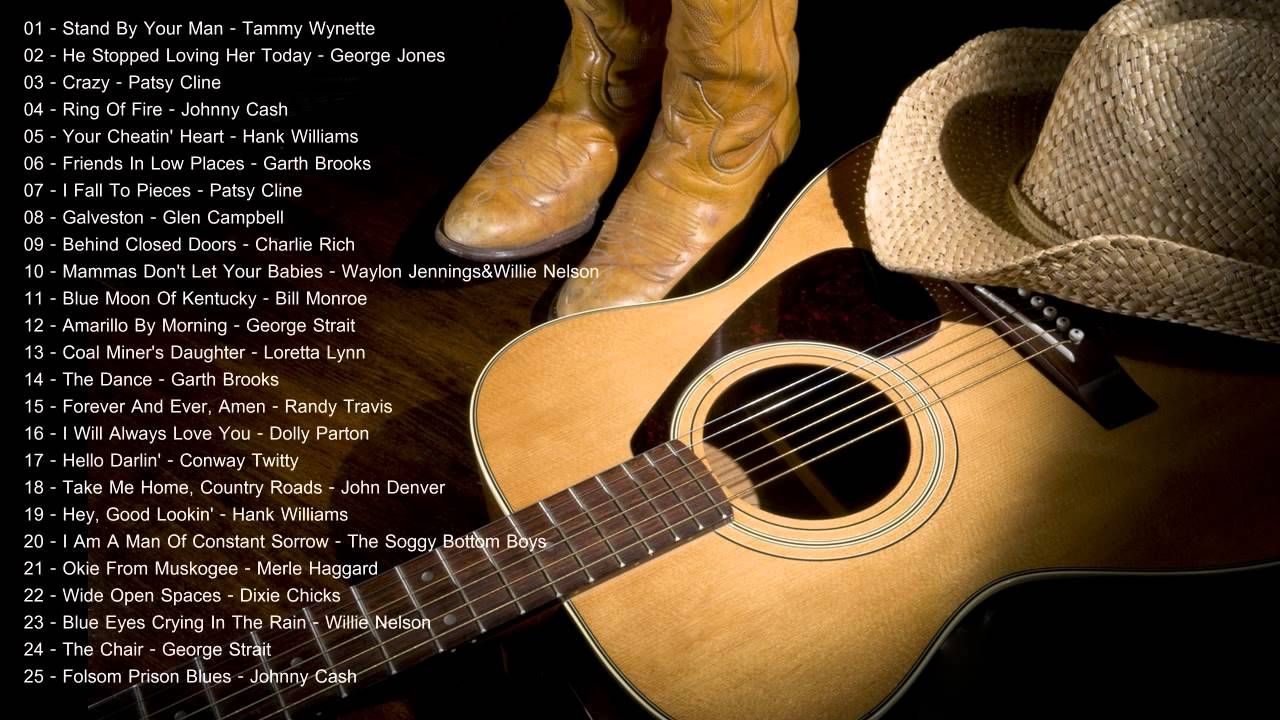 Classic Country Music Collection - Old Country Music Classics All ...