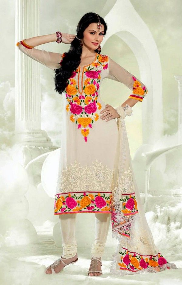 Pakistani Shalwar Kameez Collection 2014 ...#ShalwarKameez #Fashion #AnarkaliSalwarKameez