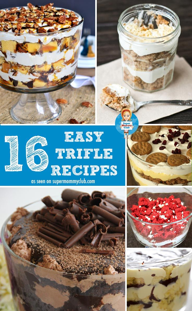 Trifles On Pinterest  Trifle Recipe Scottish Recipes And