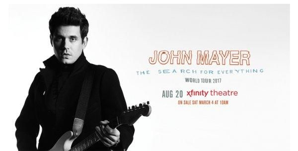 I just entered to win tickets to John Mayer!