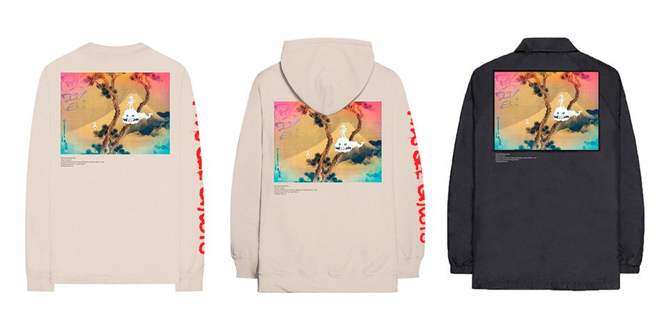398cc1d4f6a7 Kid Cudi   Kanye West s LA  Kids See Ghosts  Listening Party Merch Is  Available Now  Along with physical copies of  ye.
