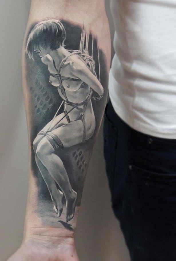 Resultado de imagen para tattoo manga bdsm