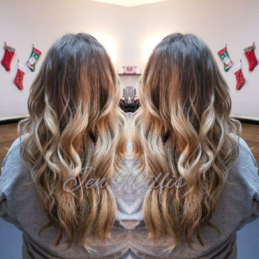 Baylayage Blonde Hair Joico Lumishine Salon Platinum Conway Ar