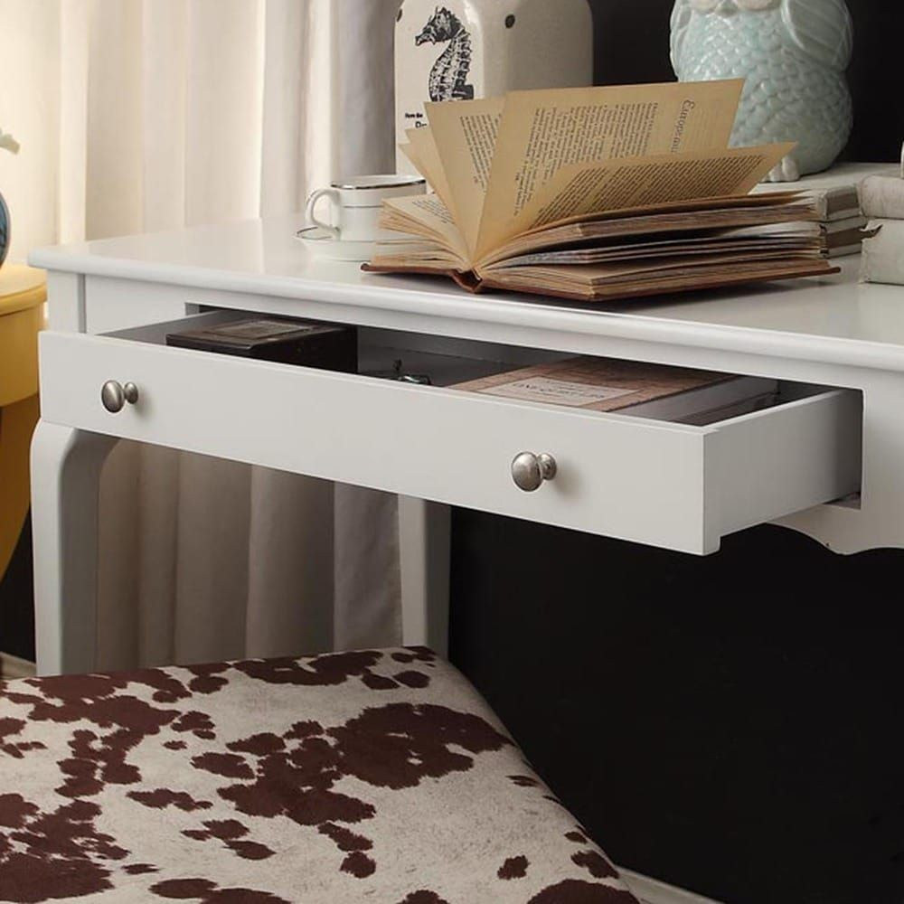 Daniella 1 Drawer Wood Accent Office Writing Desk By Inspire Q Bold