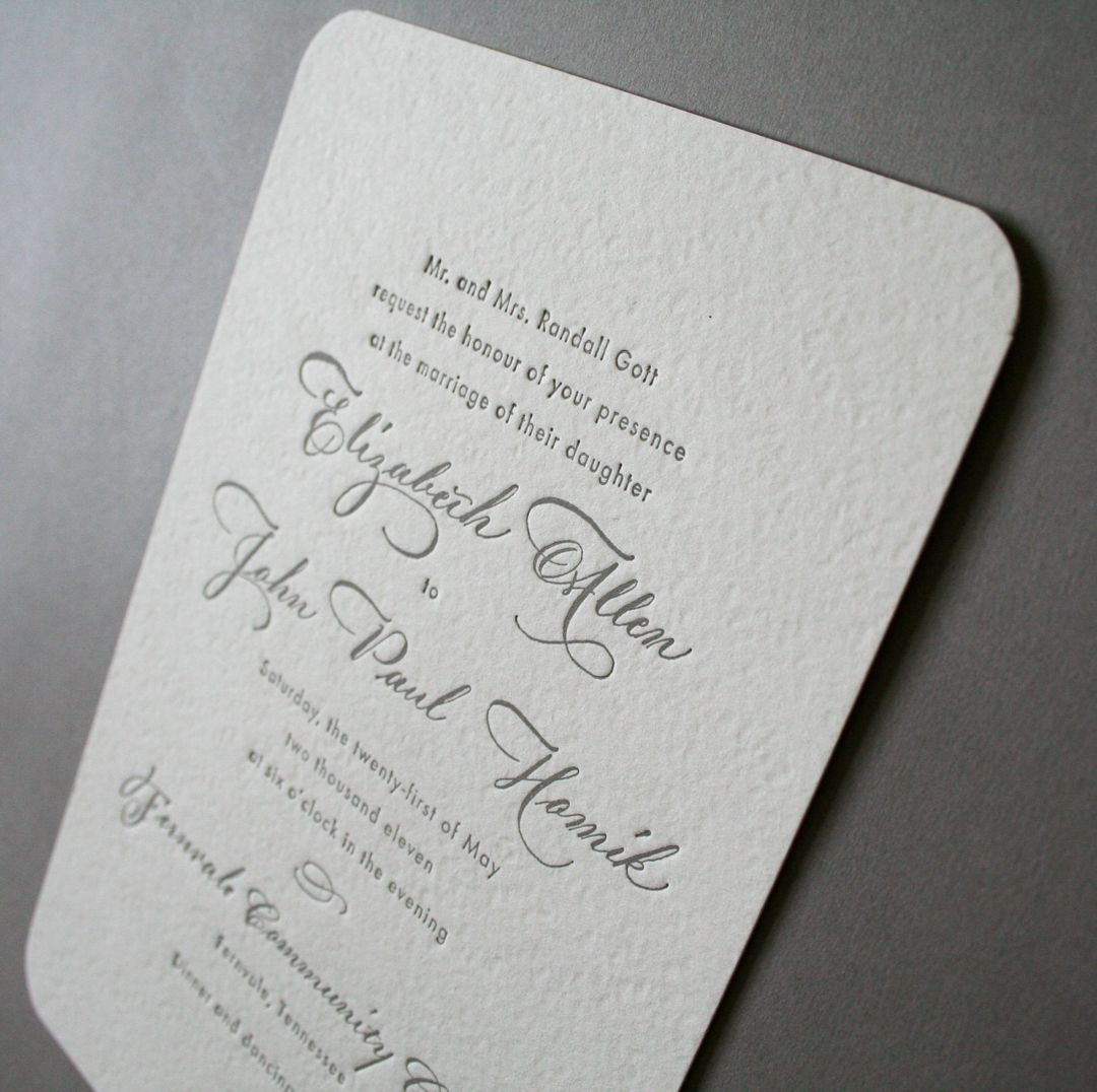 Letterpress wedding invitations diy country wedding invite letterpress wedding invitations diy monicamarmolfo Image collections