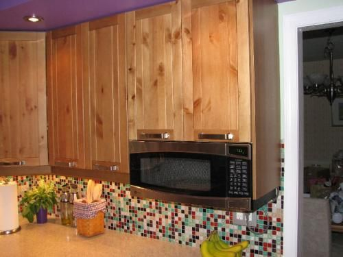 Ge Spacemaker Microwave Under Counter Kitchen Cabinet Remodel