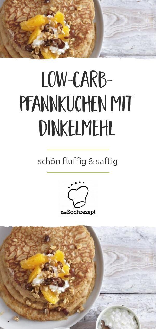 Photo of Low-Carb-Pfannkuchen mit Dinkelmehl