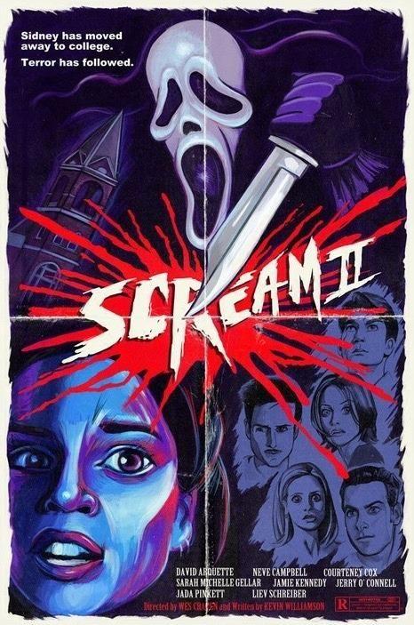 Scream 2 1997 Hd Wallpaper From Gallsource Com Movie Art Movie Poster Art Best Movie Posters