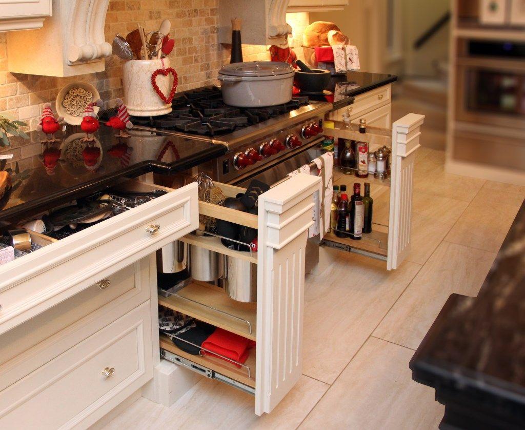 Muebles De Cocina Con Cajones Ordenacion Ideas Decoraci N Pisos  # Muebles Pequenos Para Cocina