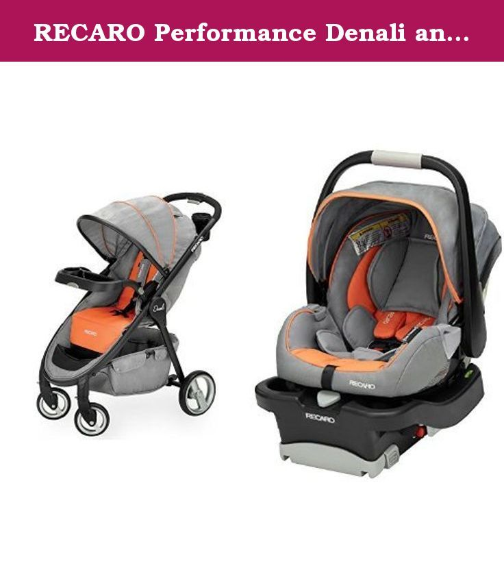 RECARO Performance Denali and Coupe Travel System, Safari. The ...