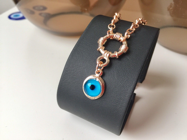 Evil Eye Necklace Gold Evil Eye Necklace Nazar Turkish Jewelry Protection Charm Evileyenecklace Jewe Evil Eye Necklace Gold Evil Eye Jewelry Eye Necklace