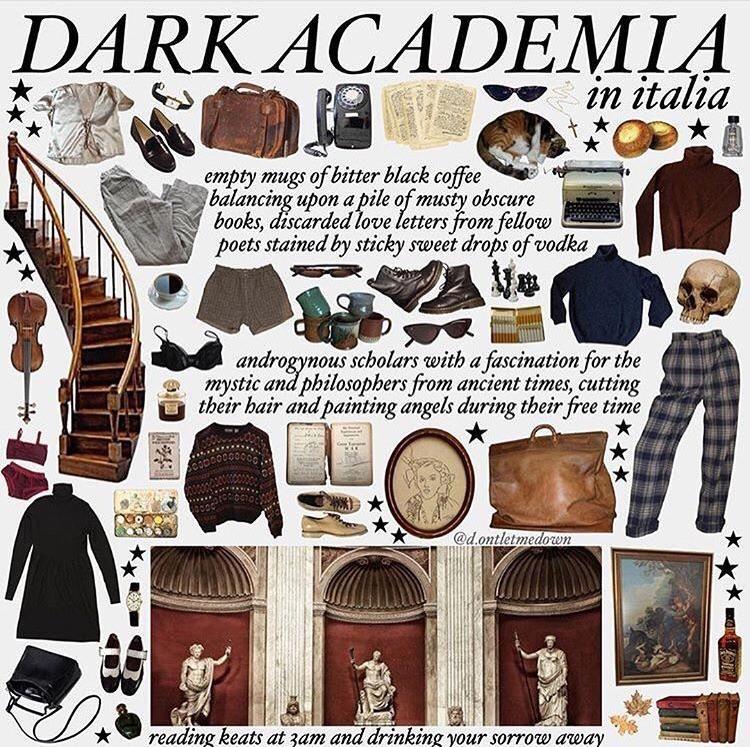 Dark Academia Starterpack