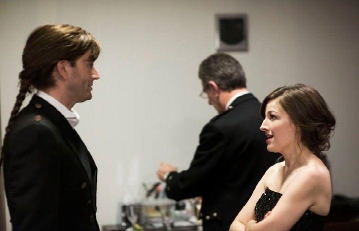 PHOTO OF THE DAY - 26th June 2015:   David Tennant and Kelly MacDonald at the Scottish Baftas (2013)