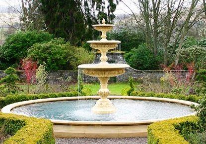 Fuentes de agua en Jardines Fotos de variedad de fuentes pequeñas y