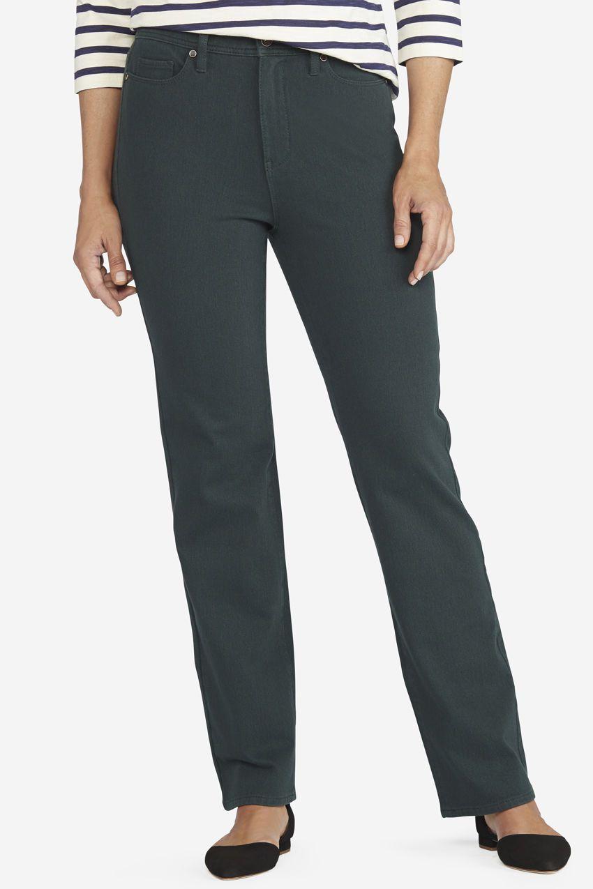 bf436ae47655 Classic Knit Denim Straight Leg - Women's Denim | Coldwater Creek ...