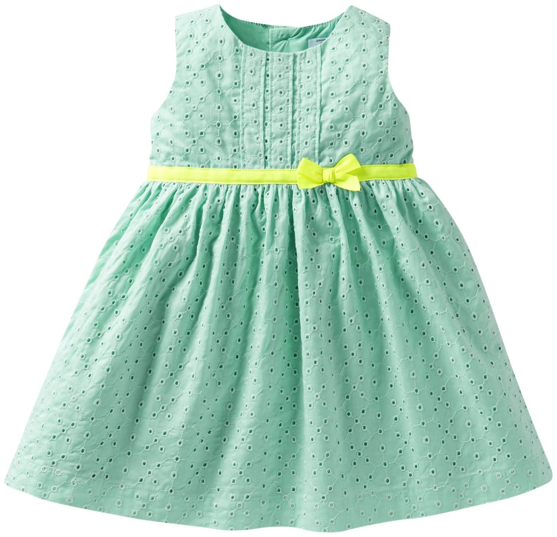 Green dress baby images  Carterus Eyelet Dress Baby  Free Shipping  Sugar and Spice