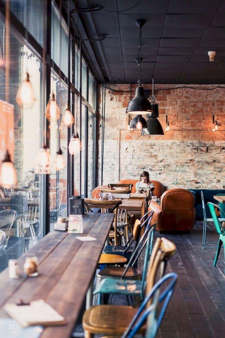48 Quality Bar Decor Ideas Bakery Design Interior Cafe Interior Design Rustic Coffee Shop