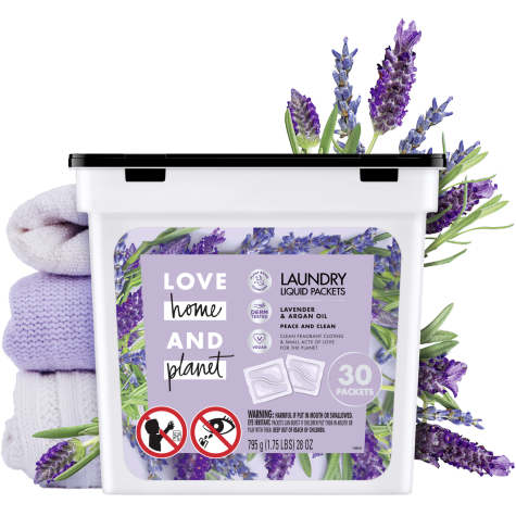 Lavender Argan Oil Laundry Packets Love Home And Planet