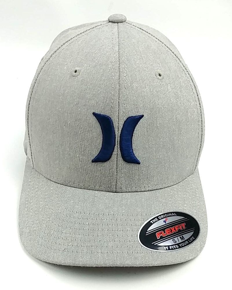 finest selection a7842 c0578 Hurley Men One and Textures Hat Light Heather Gray USA Seller  Hurley   OneandTextures