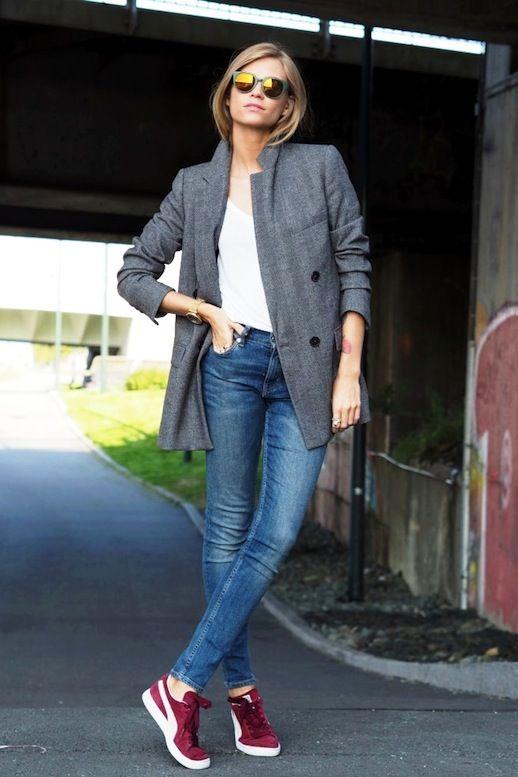 puma sneaker jeans