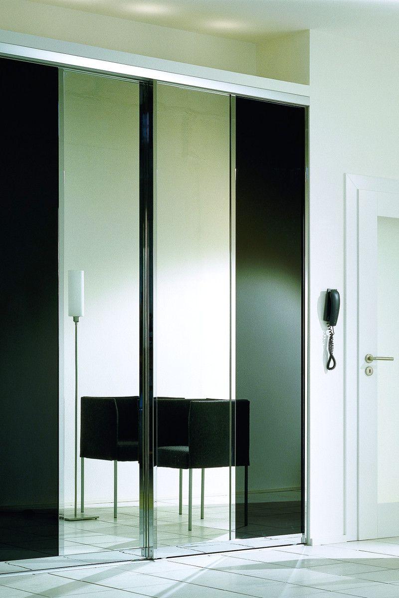 Garderobe Mit Schiebetur Spiegel Eingangsbereich Flur Schrank