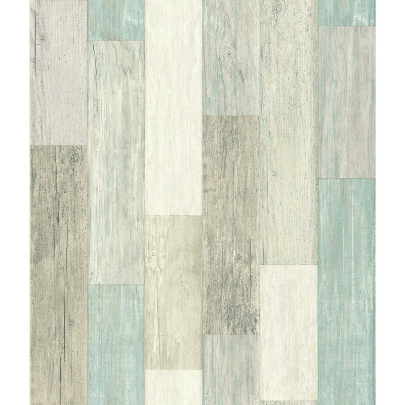 Highland Dunes Chronister Coastal Weathered Plank 16 5 L X 20 5 W Wood And Shiplap Peel And Sti In 2020 Peelable Wallpaper Coastal Wallpaper Peel And Stick Wallpaper