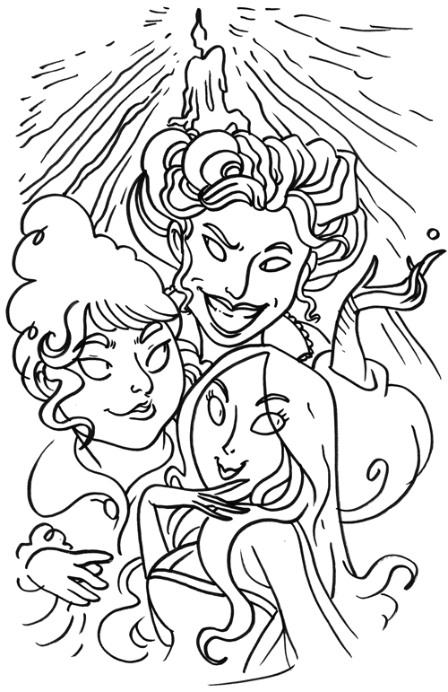 Hocus Pocus By Https Secondlina Deviantart Com On Deviantart Halloween Coloring Pages Witch Coloring Pages Halloween Coloring